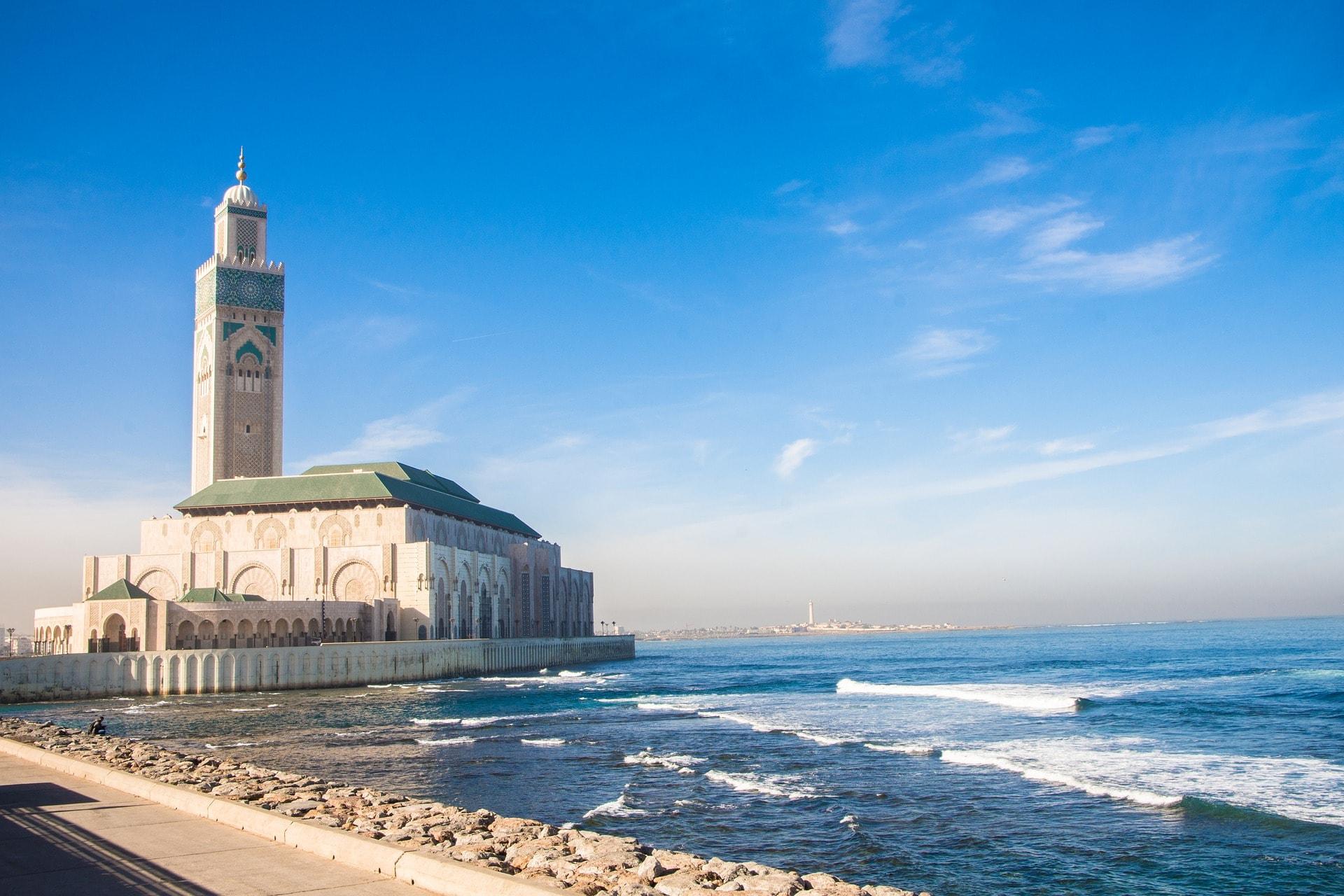 Mosquée d'Hassan II, voyage d'affaires à Casablanca