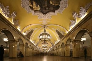 Métro, voyage d'affaires à Moscou