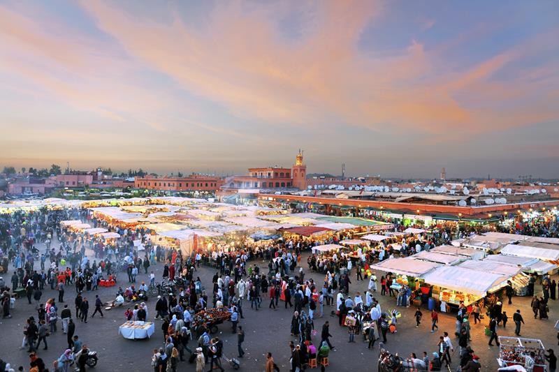 Souk à Marrakech