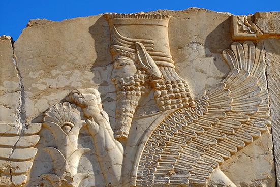 Iran Persepolis bas relief web