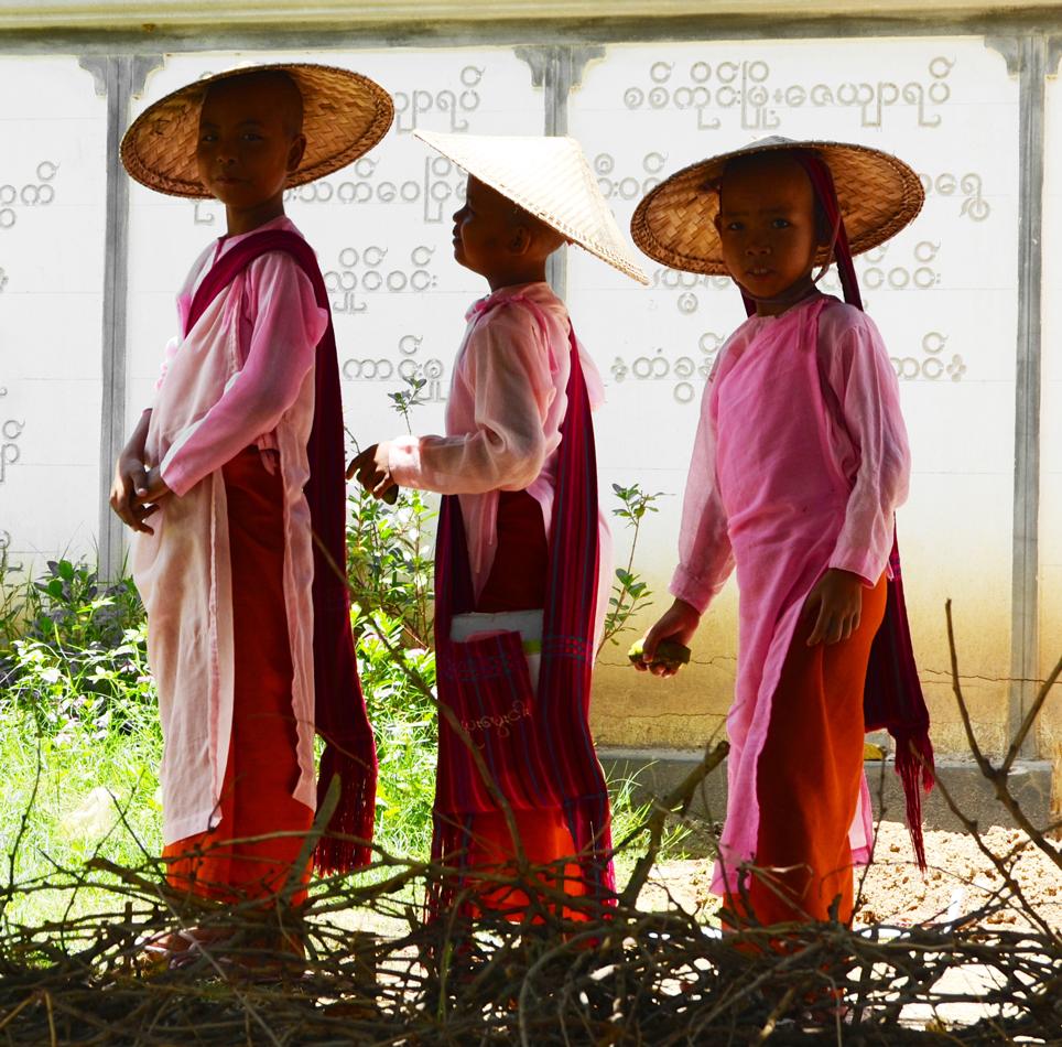 Nones de Birmanie