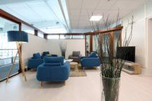 Un lounge à l'aéroport de Rennes