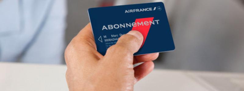 carte d abonnement air france PROMO abonnements AIR FRANCE   Préférence Business Travel