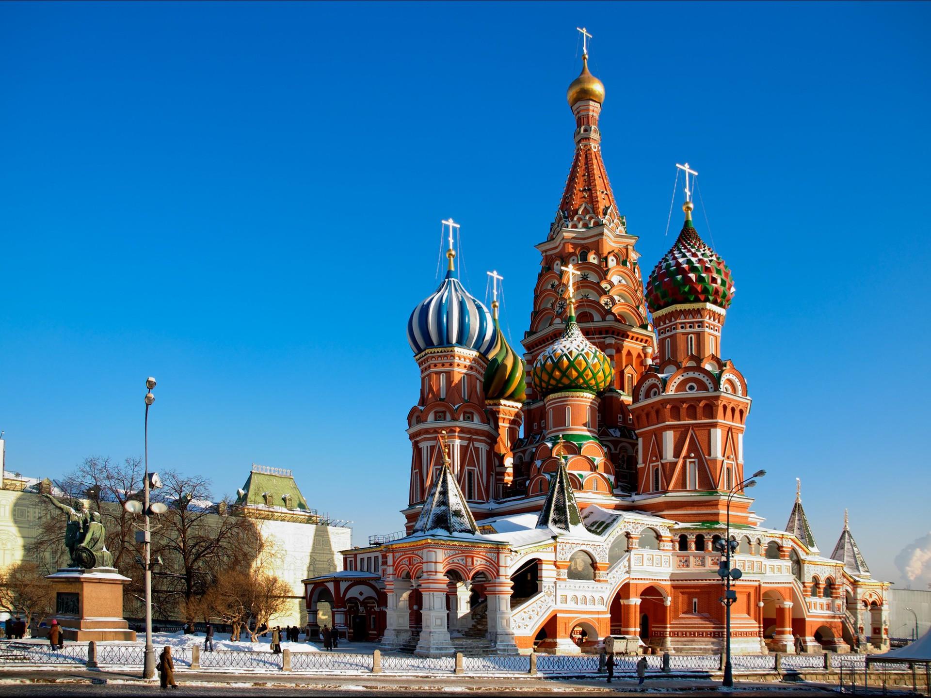 Cathédrale Basile-le-Bienheureux, voyage d'affaires à Moscou