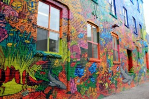 Graffiti Alley, voyage d'affaires à Toronto