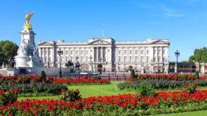 Buckhingham Palace, voyage d'affaires à Londres