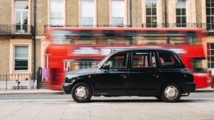Cab, voyage d'affaires à Londres