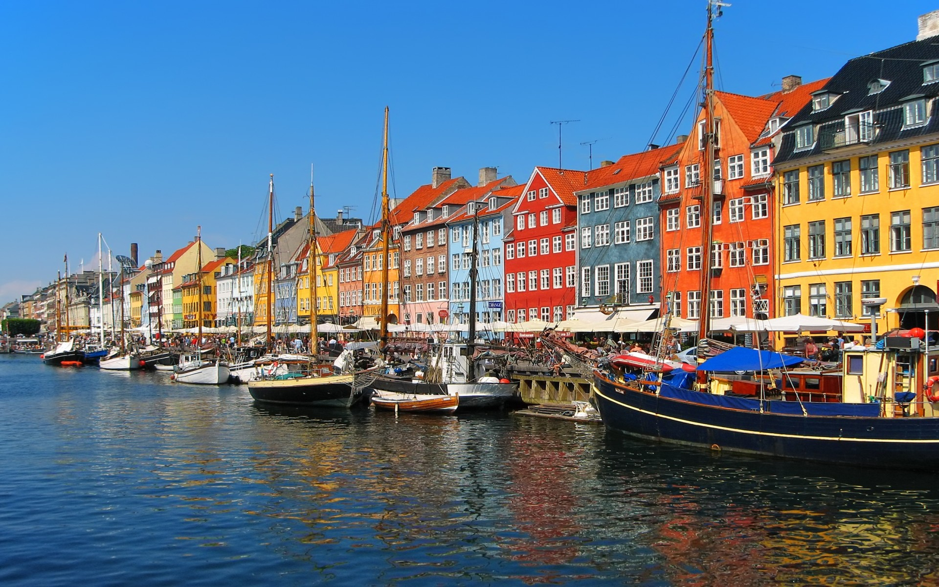 Port, voyage d'affaires à Copenhague