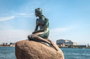 Petite Sirène, voyage d'affaires à Copenhague