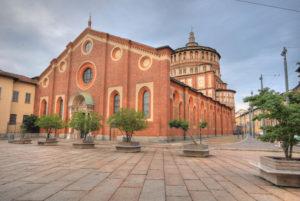Eglise Santa Maria delle Grazie, voyage d'affaires à Milan