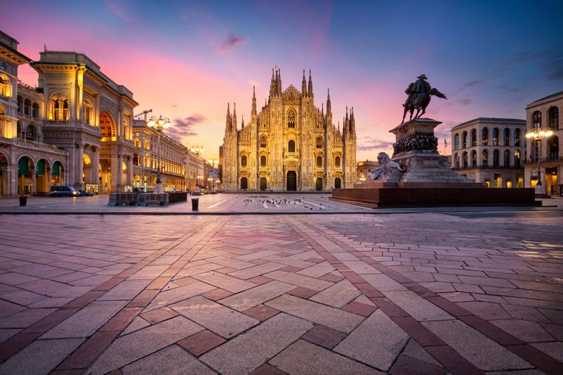 En Voyages d'affaires à Milan