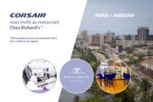 Nouveauté au départ d'Abidjan !