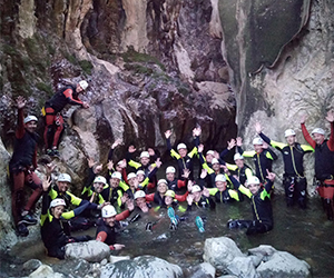 canyoning andalousie