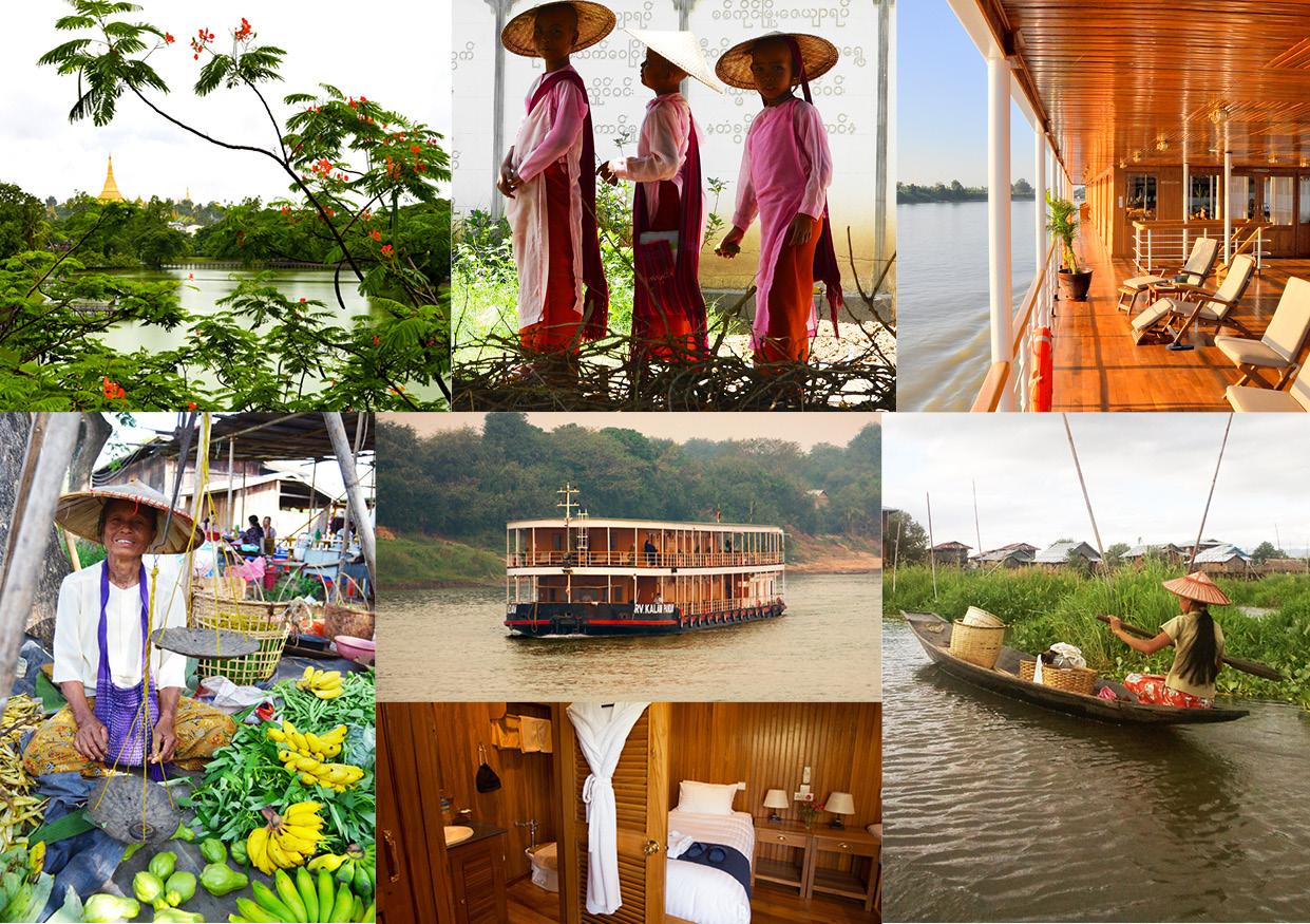 Croisière en Birmanie