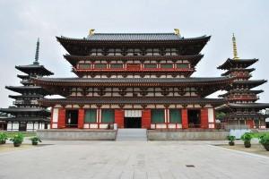 Opening to public of Yakushi temple