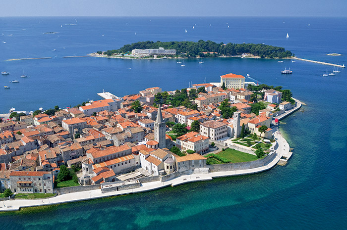 Voyage à Porec en Croatie