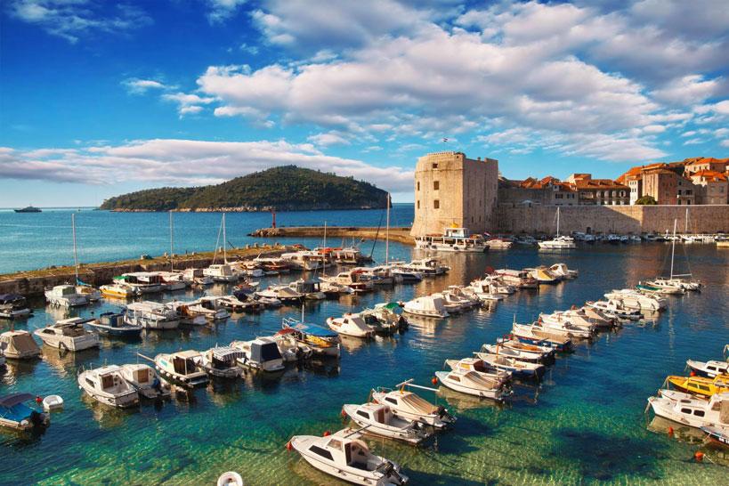 Voyagez à Dubrovnik en Croatie